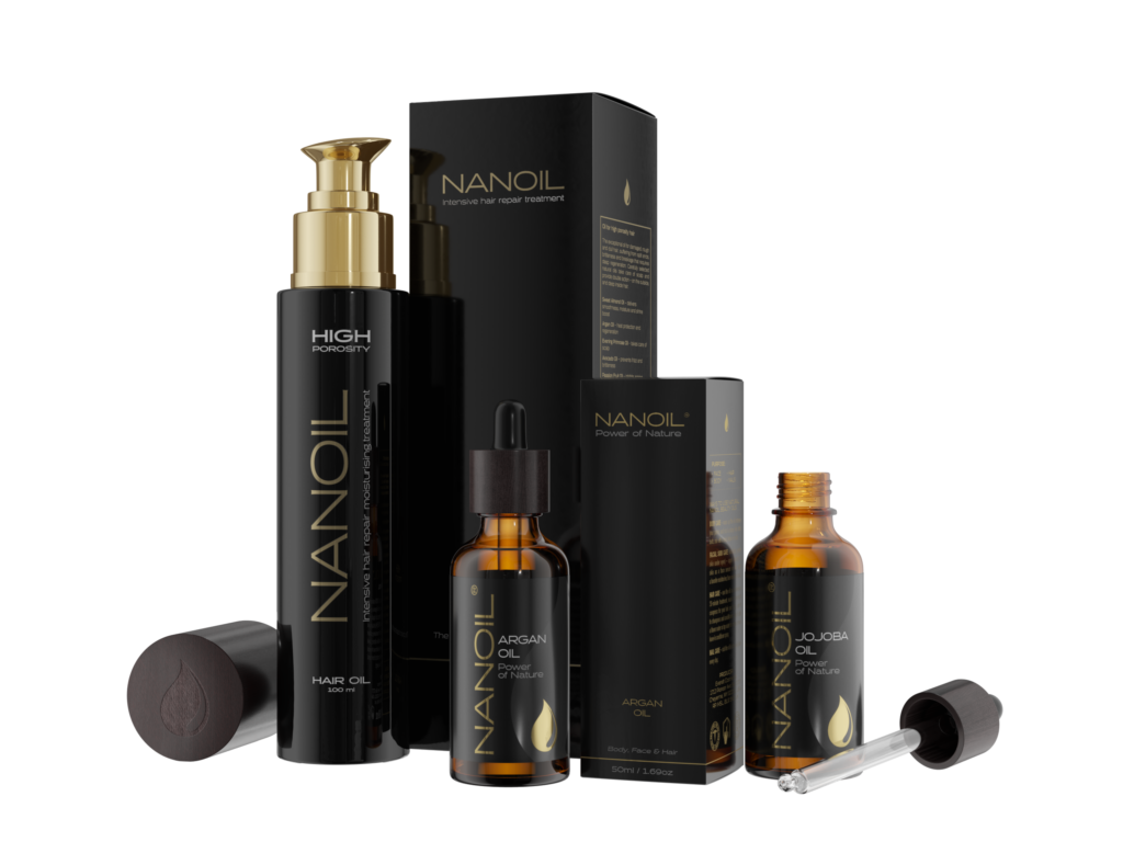Nanoil natural oils